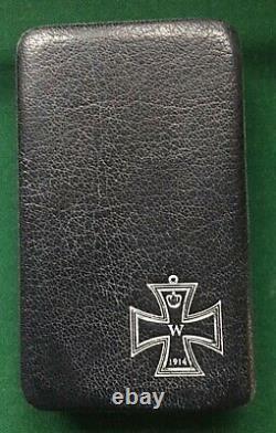 Medal German Ww1 Iron Cross 2nd Class (maker Kp) In Case