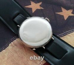 Men's Antique Vintage World War I Era Hunter Cased Trench Wristwatch SERVICED