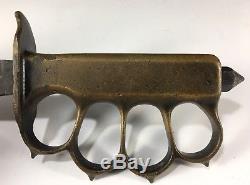Model U. S. 1918 L. F&C-1918 Trench Knife Vintage WW1