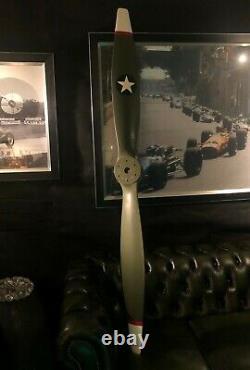 NEU Flugzeug Propeller WW1 Vintage Star, TOP Dekorationsmodell, 186 cm lang