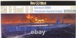 NEW Das Werk DW72001 WWI German SM U-9 U-Boat kit