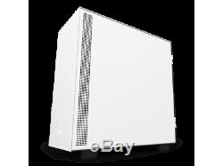 NZXT H500i CA-H500W-W1 Matte White/Black SECC Steel and Tempered Glass ATX Mid T