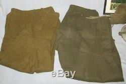 Named WW1 U. S. Soldier Uniform/Gear Grouping