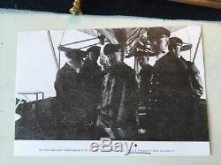 Named WW1 Zeppelin Officers Damascus Naval Dress Dagger Zeppelin L6 (LZ36)