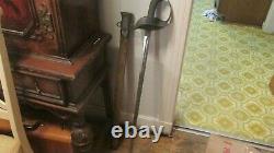Nice Wwi Patton Model 1913 Calvary Saber-patton Sword -1918 Dated