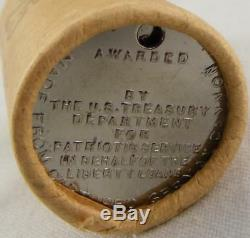 ORIGINAL ROLL Of 25 WWI Liberty Medals From Captured German Cannon