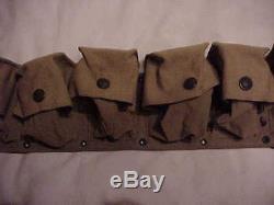 ORIGINAL UNISSUED WWI Bandage Belt Carried by Hospital Corpsmen/Medics in France