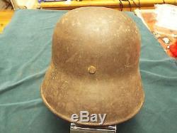 Original Ww1 German M16 Helmet With Provenance And Capture Details