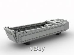 (One) World War 2 (WW2) Higgins boat made with real LEGO(R) bricks