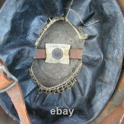Orig WWI US M1917 Doughboy Painted 77th Division Lost Bn type Combat helmet