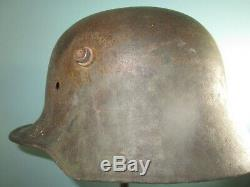 Original 62 cm German M16/17 steel helmet casque stahlhelm casco elmo WW1