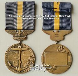 Original First Pattern US Navy WWI Distinguished Service Medal