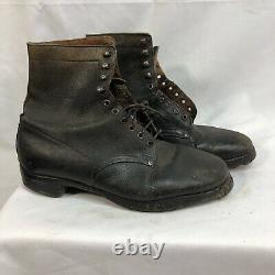Original French WW1 Army Boots Shoes Size 8