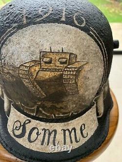 Original German WW1 Helmet M16 Stahlhelm