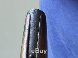Original German WW1/WW2 Military C96 Broomhandle Mauser Walnut Stock/holster