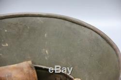 Original German WWI Complete M17 Steel Helmet with Liner WW1