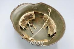 Original German WWI M1917 Mail Home Helmet