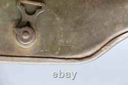 Original German WWI M1917 Steel Helmet with Goatskin Liner