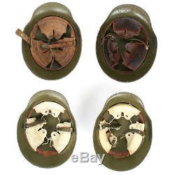 Original Imperial German WWI M18 Stahlhelm Helmet Shell Size 66