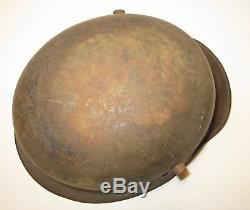 Original Mail-home WWI German Austrian Austro-Hungarian M17 Stahlhelm Helmet