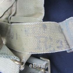 Original Set Of Ww1 British Army 1908 Pattern Mills Webbing Equipment Order
