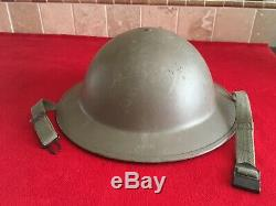 Original US WW1 M1917 Steel Helmet Doughboy AEF Army