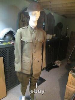 Original WW1 7th Infantry Regiment Uniform Complete with Helmet