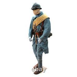 Original WW1 French Infantry Uniform Complete