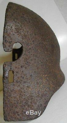Original WW1 German Armor Sniper Shield Stirnpanzer