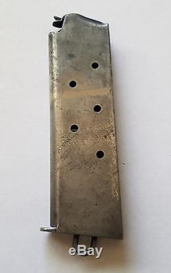 Original WW1 WW2 Colt 45 1911 Magazine 7rd Mag 2 tone Laynard Loop