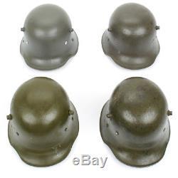Original WWI Austro-Hungarian M17 Stahlhelm Steel Helmet Size 64
