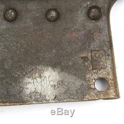 Original WWI Imperial Russian Infantry Shovel- WWI Dated