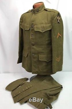 Original WWI US Army 2nd Infantry Division HQ 17th Artillery