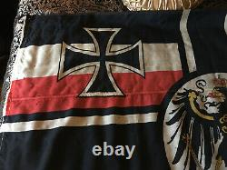 Original WWI / WW1 Imperial German War Flag / Reichskriegsflagge