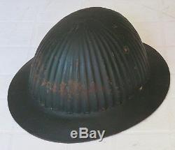 PORTUGAL Rare WWI M1916 ribbed helmet 1916-1918 Portuguese helm casque
