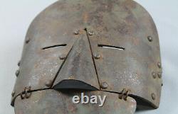 Panzerung des Stoßtrupps 1wk stirnpanzer brow plate ww1