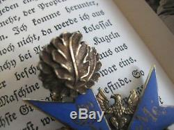 Pour le Merite knight cross WWI highest award blue max oak leaves Wehrmacht rare