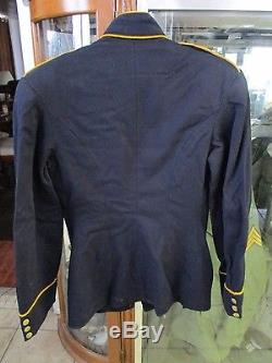 Pre-WW1 2nd Cavalry Troop L M-1902 Enlisted Man's dress uniform coat