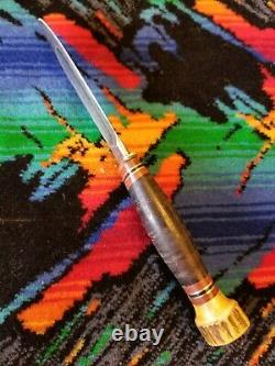 Pre WW1 Era 1905 1910 Vintage MSA CO. MARBLE'S 4-1/2 Ideal Bowie Knife Rare