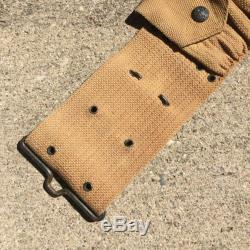 Pre-WW1 M1903 Cartridge Belt US Army Eagle Snaps Pat'd 1901