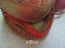 Pre WWI/WWI 25th Brant Dragoons Cavalry Helmet with Original Brass Chin Strap