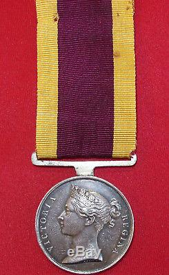 Pre Ww1 British Army 1842 China Opium War Campaign Medal Madras Artillery