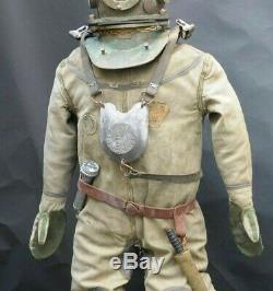 Rare Diving Divers Helmet, suit, boots(cascue, escafandra) complete Reproduction