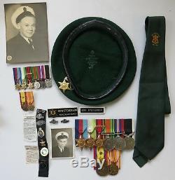 Rare New Zealand World War I-II Large Family Group STEVENSON KIA ANZAC Gallipoli