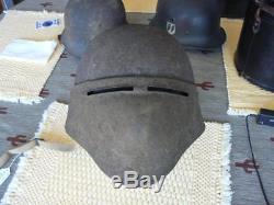 Rare NonUpgradeable WW 1 US Experimental # 8 Helmet Original Liner & Chin Strap