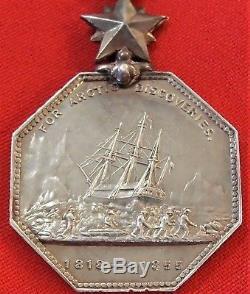 Rare Pre Ww1 British Arctic Expedition Medal 1857