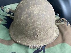 Rare WW1 US Army Experimental Helmet Model 1918 No. 5 USGI WWI AEF