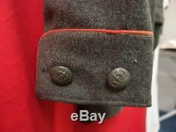 Rare Ww1 German Infantry Majors Tunic Jacket With Cap And Belt