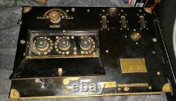 Rare Wwi Western Electric Signal Corps Scr-68 Transmitter Radio Receiving Scr59