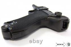 Replia Luger Parabellum P08 Pistol WWI WWII German Non-Firing Denix